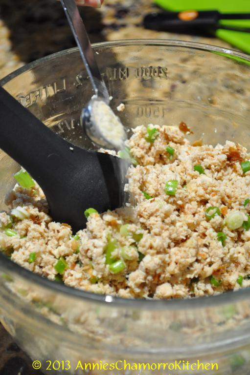 Chicken Kelaguen Amp Flour Titiyas Annie S Chamorro Kitchen