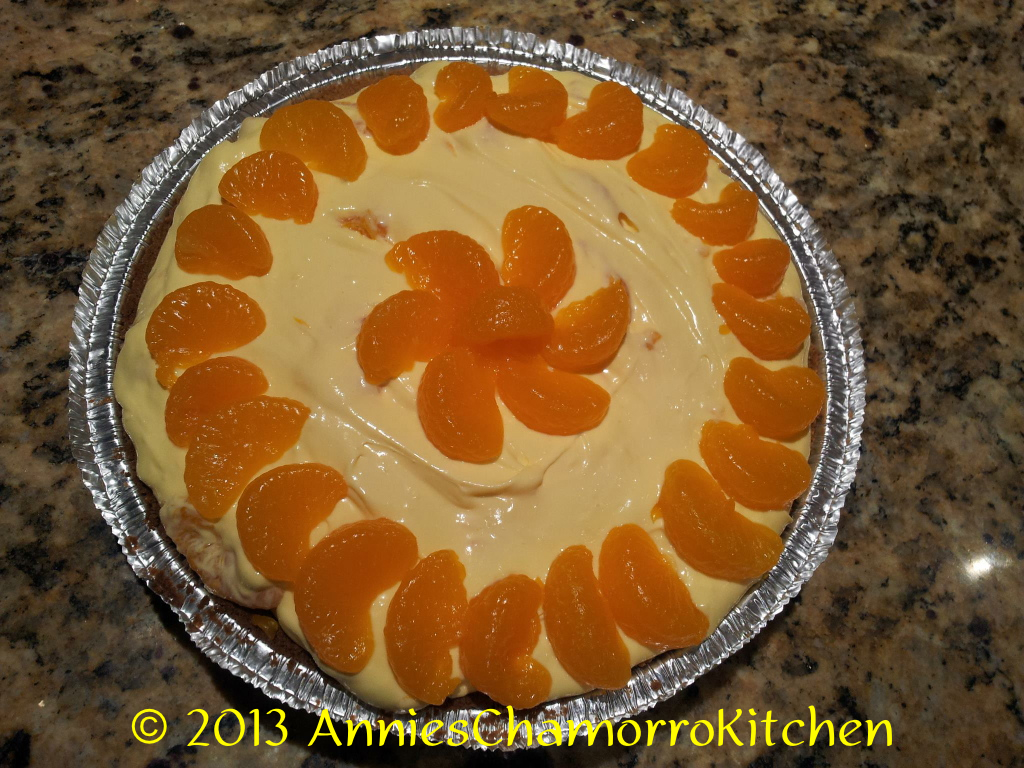 Mandarin Delight Pie - 02