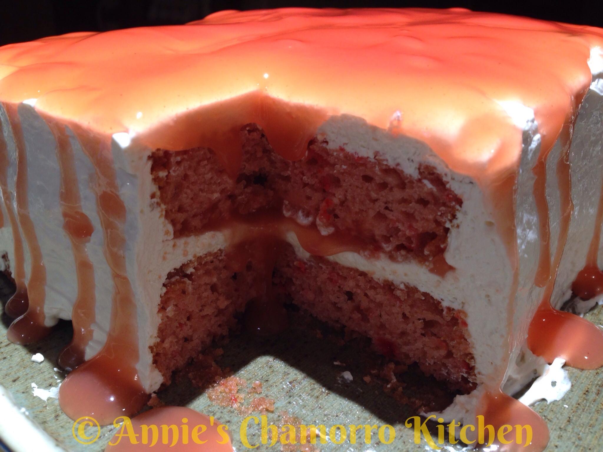 Easy Chamorro Cake