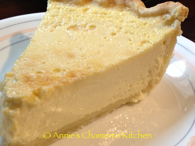 how to make custard pie filling