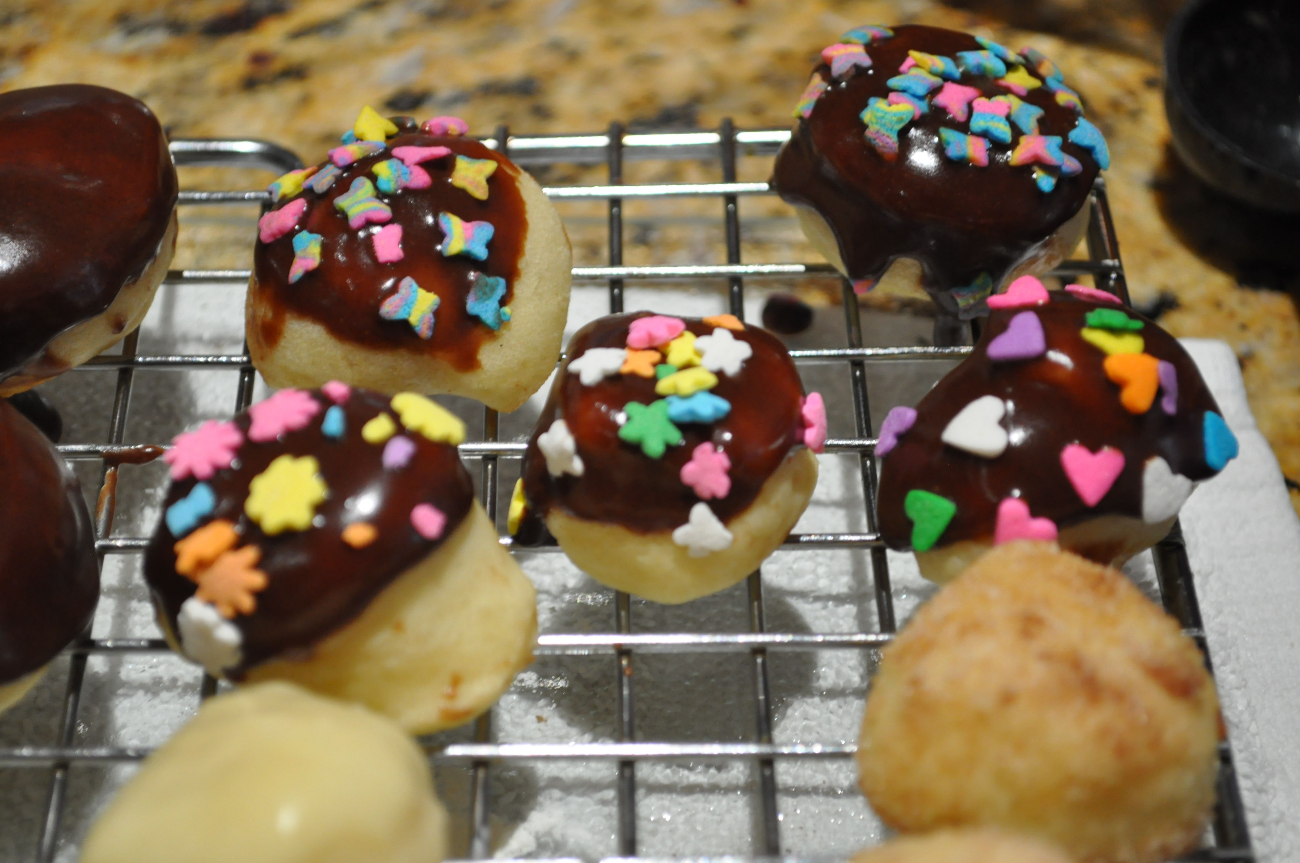 Baked Yeast Donuts - 12