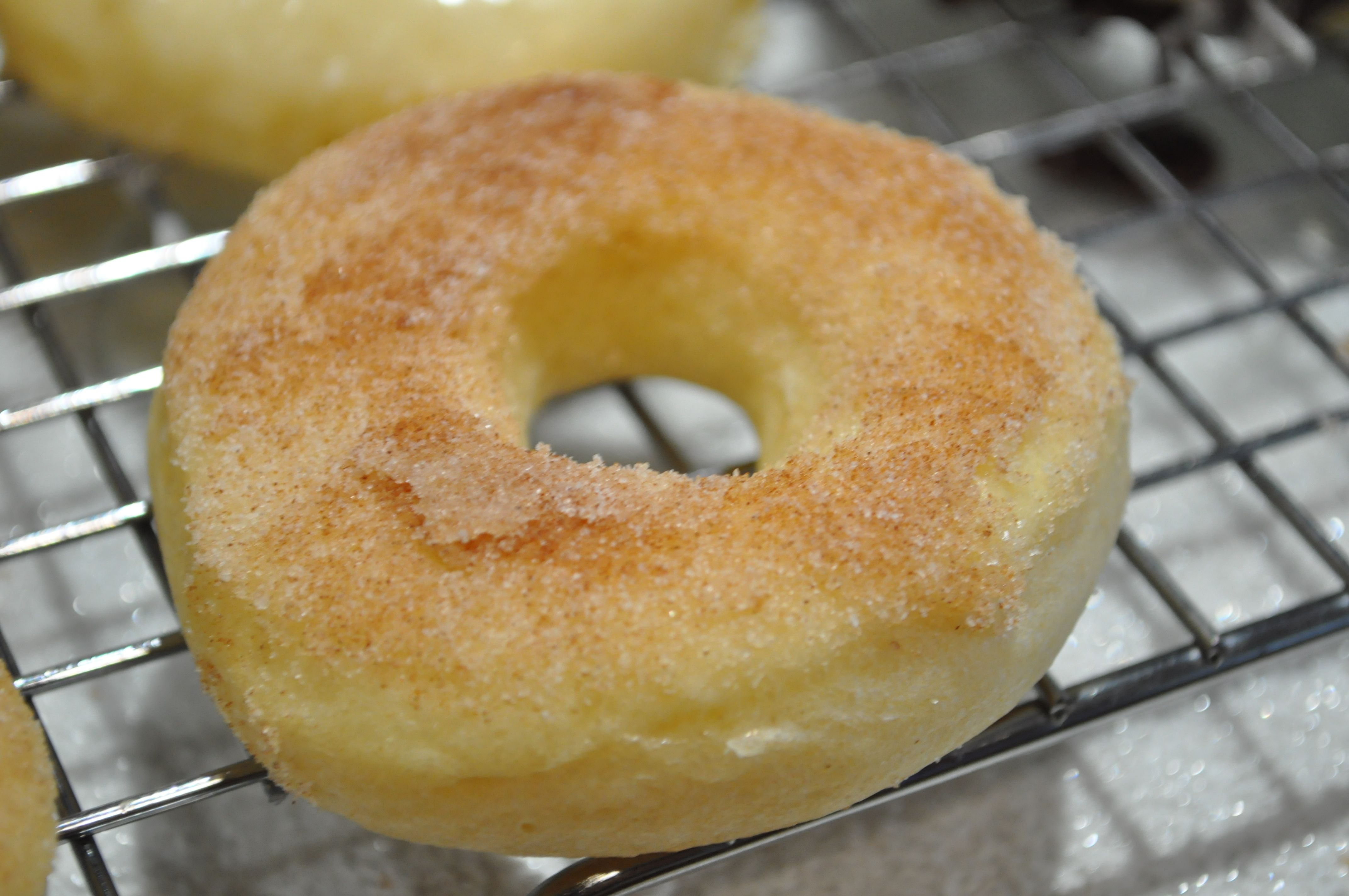 Baked Yeast Donuts - 13