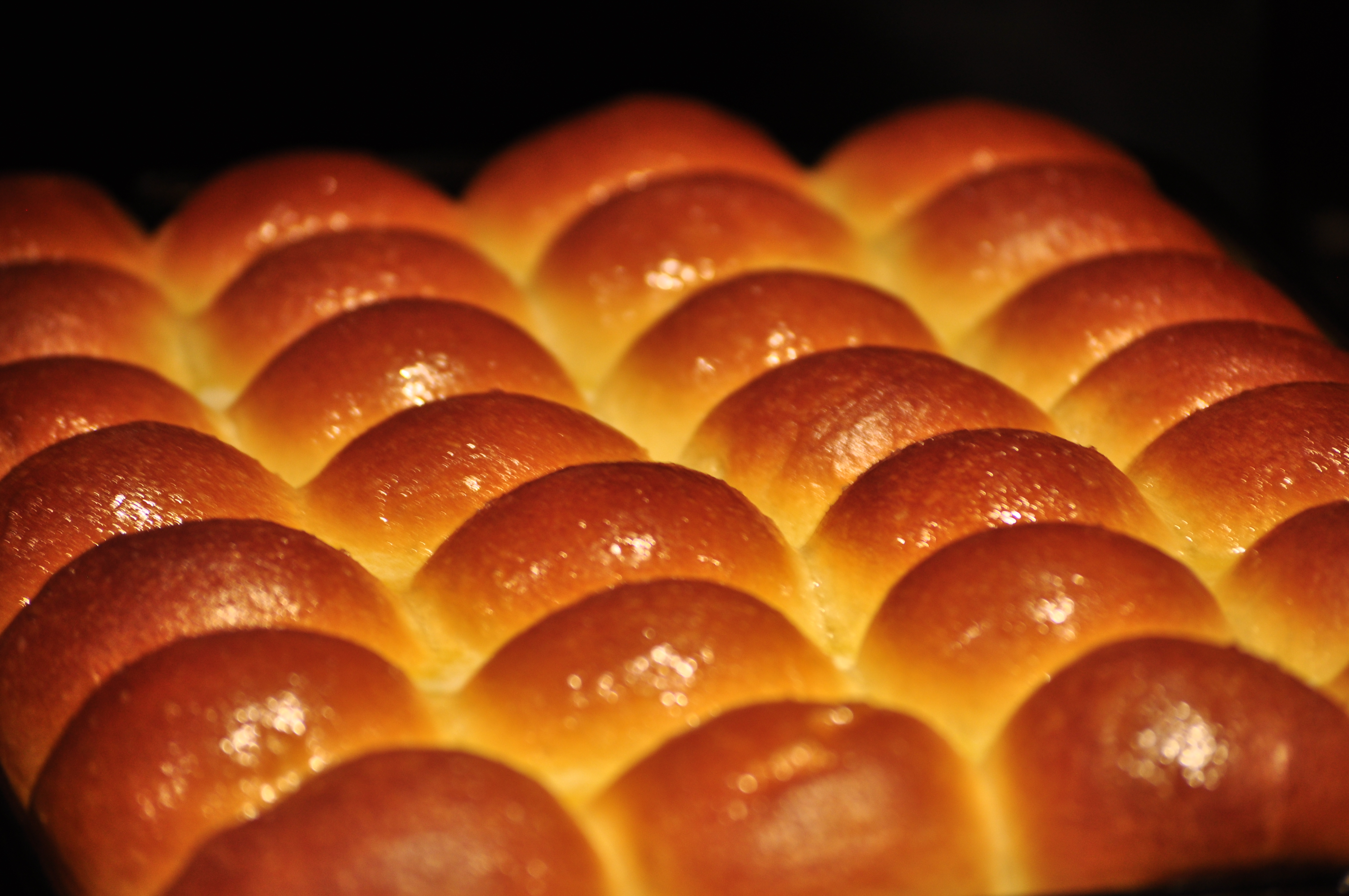 Buttered and Sugared Dinner Rolls - 01