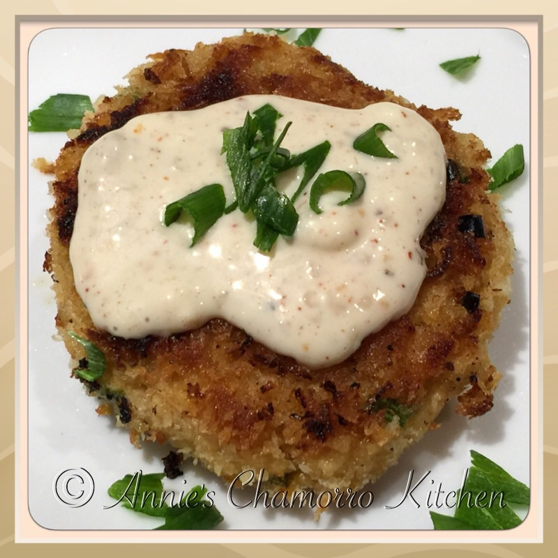 Easy Salmon Cake Recipe: Annie's Chamorro Kitchen