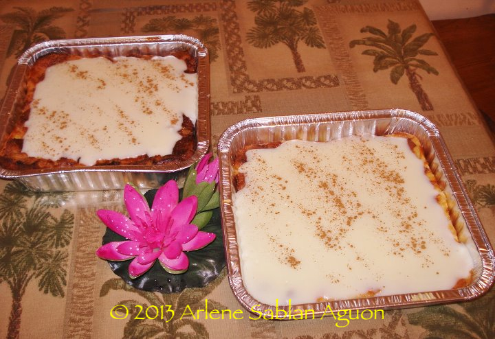 PoP Augon's World Famous Bread Pudding
