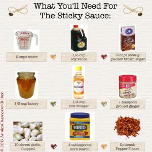 3 - Sauce Ingredients