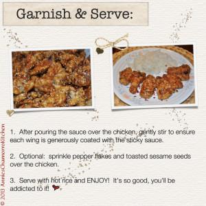 8 - Garnish and Serve