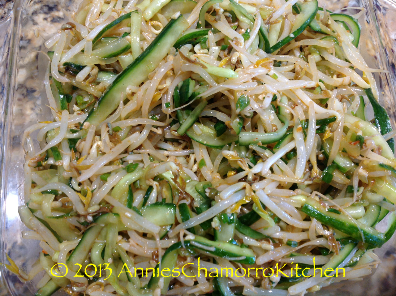 Bean Sprout & Cucumber Kimchi