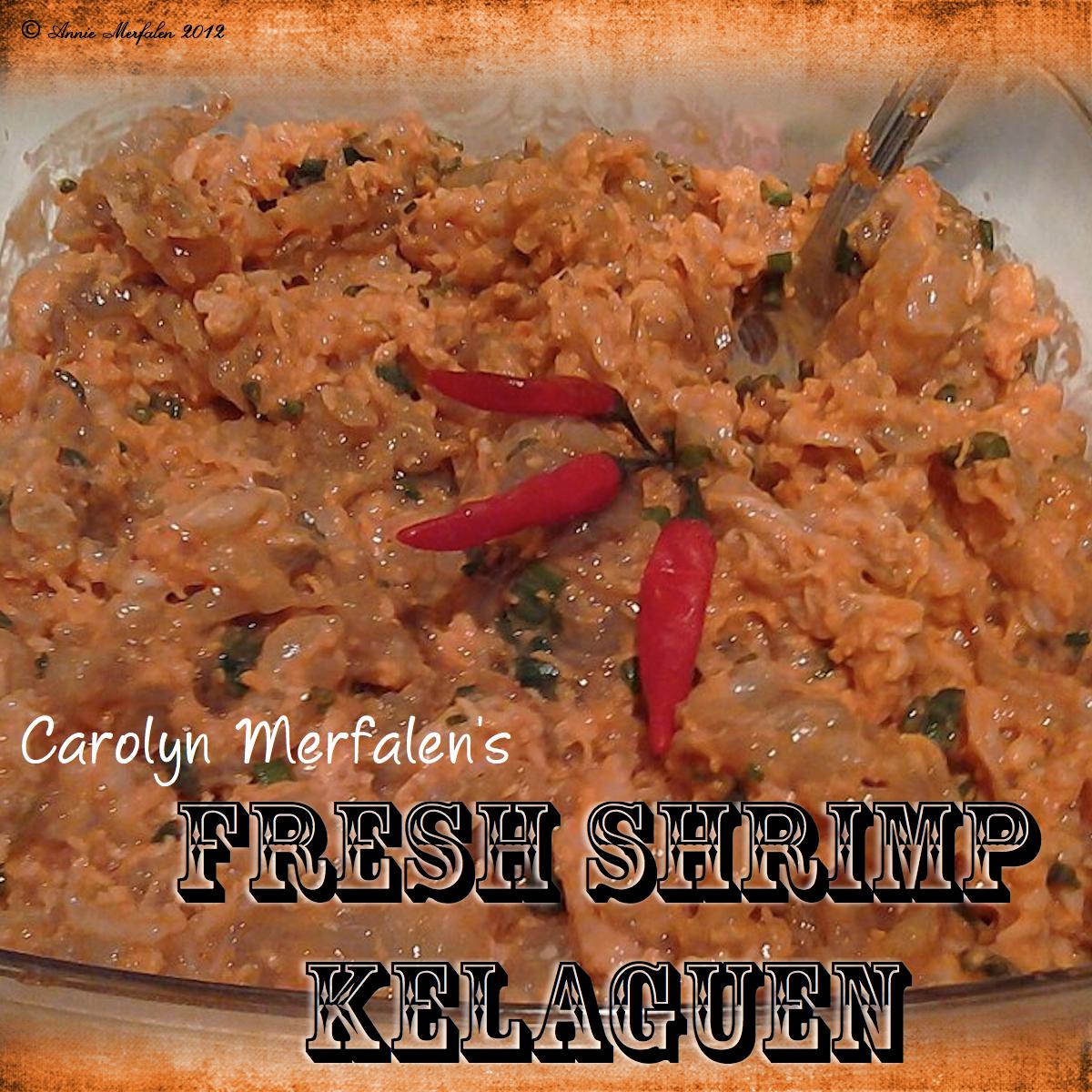 Carol's Shrimp Kelaguen 1