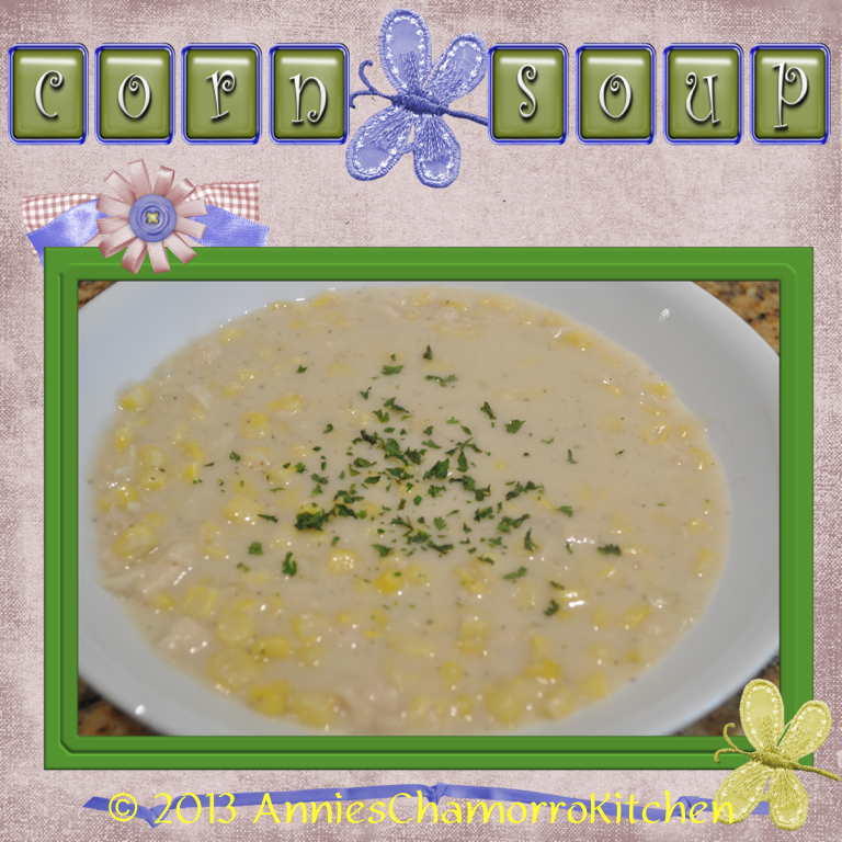 Corn Soup Tutorial - 01