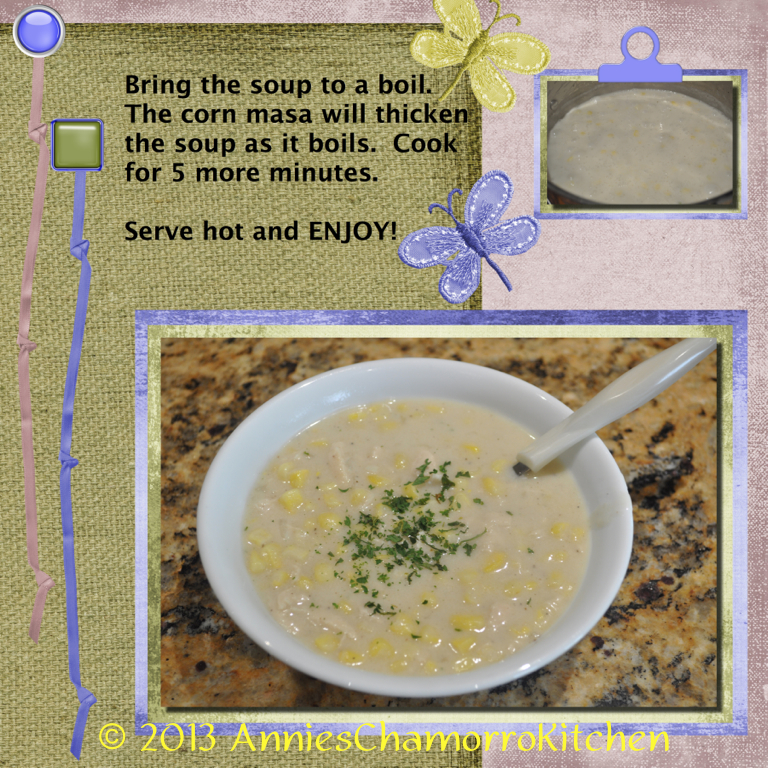 Corn Soup Tutorial - 05