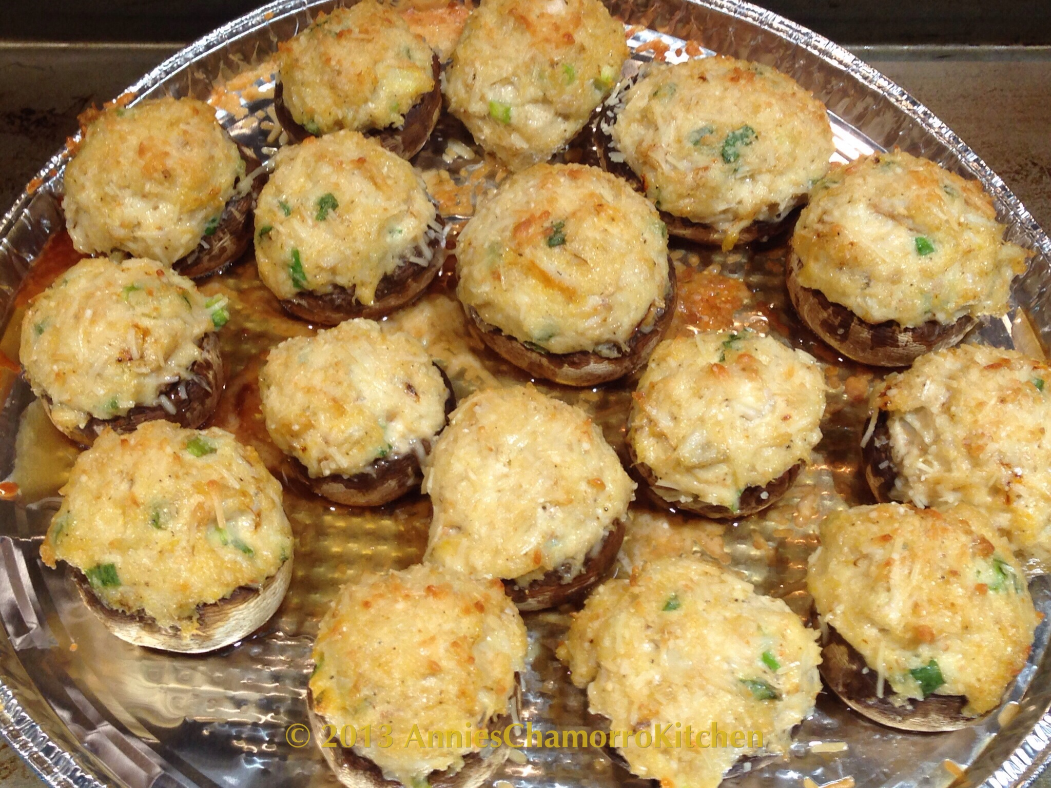 ... crab stuffed mushrooms tender mushrooms sweet crab meat and melted